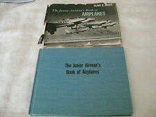The Junior Airman's Book of Airplanes by Clive E Davis Vintage 1958 Edition V22