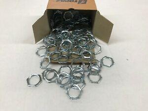 """Box of 100 Topaz 282 Rigid Locknuts 3/4"""""""
