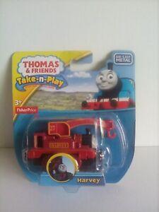Fisher-Price Thomas & Friends Take-n-Play Harvey Die-Cast Engine
