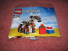 LEGO CHRISTMAS REINDEER WITH PRESENTS 30474 - NEW/SEALED