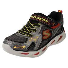 Chaussures rouges à boucle en cuir pour garçon de 2 à 16 ans