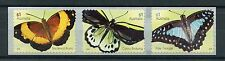 Australia 2016 MNH Beautiful Butterflies 3v S/A Set Birdwing Insects Stamps