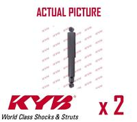 2 x FRONT AXLE SHOCK ABSORBERS PAIR STRUTS SHOCKERS KYB OE QUALITY 445080