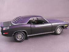 1/24 Franklin Mint Reverse Purple 1970 AAR CUDA Plymouth Limited Ed of 30