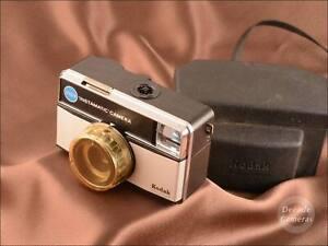 Kodak Instamatic 255X  Film Camera & Original Case - Excellent - 722