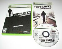 Tony Hawk's Proving Ground Limited Edition for Xbox 360 Complete Fast Shipping!