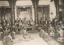 Siamese Cambodia Dancers Paris Old Keystone Photo 1930