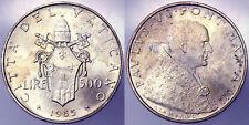 500 LIRE 1965 PAOLO VI CITTA' DEL VATICANO VATICAN CITY SILVER Q.Fdc A.Unc §781