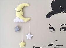 Limone Sorbetto MOON Cloud Star Da Appendere Mobile Vivaio Decorazione da Parete Baby Shower