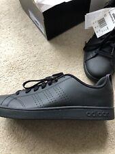 Adidas Vs Advantage Cl Black Size 10 UK New Boxed Tennis