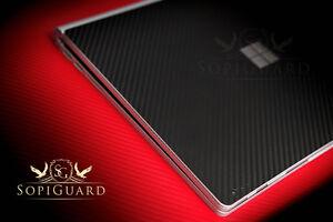 SopiGuard Carbon Fiber Brushed Skin Full Body Film for Microsoft Surface Book
