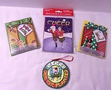 Christmas Me Lot Mary Engelbreit Bloom Planted Ornament + 3 Packs New Note cards