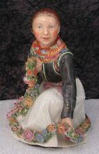Vintage Royal Copenhagen Amager #12412 Danish Porcelain Figurine - 1st Quality