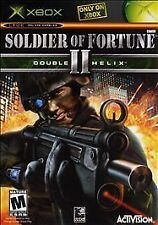 SOLDIER OF FORTUNE II FOR XBOX & 360 COMPLETE, THE GAME AND ORIGINAL BOX