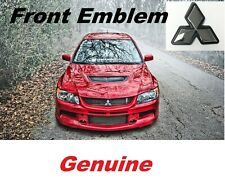 For Mitsubishi Lancer Evo 9 Emblem Evolution IX Front 2006 2007 Badge