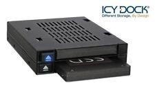 "New ICY Dock MB522SP-B FlexiDOCK Dual Bay 2.5"" SATA HDD Hard Drive Mobile Rack"
