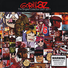 GORILLAZ - THE SINGLES COLLECTION 2001-2011 CD ~ GREATEST HITS / BEST OF *NEW*