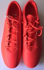 New Under Armour Force 3.0 FG Men's Soccer Cleats Solar Red 1300152-900 Size 11