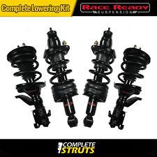 "2002-2003 Honda Civic Complete Struts & Shocks w/ Springs Lowering Kit 1.5"" Drop"