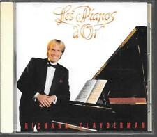 CD ALBUM 16 TITRES--RICHARD CLAYDERMAN--LES PIANOS D'OR--1990