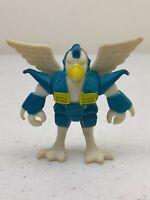 1986 Hasbro Takara Battle Beasts Colonel Bird Series 1 #4 Figure Toy w/ No Rub