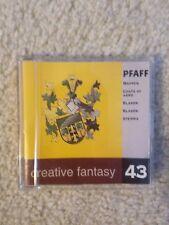 Pfaff Creative Fantasy Embroidery Card #43 - Coats of Arms