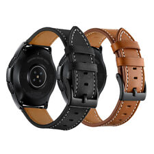Classic Genuine Leather Watch Band Strap For Samsung Galaxy Watch 46mm 42mm