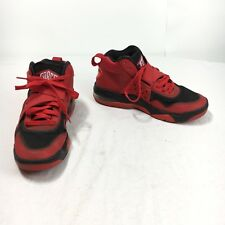 Nike Air Force Charles Barkley CB Mens 8 Red Black Strap Across Basketball Shoes