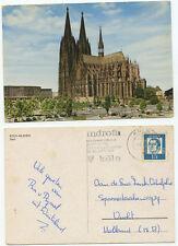 12314 - Köln am Rhein - Dom - AK, gelaufen 2.6.1964 nach Vucht, Holland