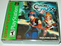 CHRONO CROSS PSX PS1 AMERICAN FULL ENGLISH NEW SEALED NTSC PLAYSTATION 1