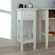 Small Hall Console Table Telephone Lamp Stand Hallway Furniture With 1 Drawer