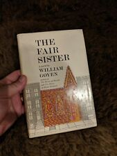 1963 FIRST EDITION THE FAIR SISTER BY WILLIAM GOYEN with DJ