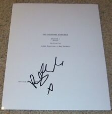 RILEY KEOUGH SIGNED AUTOGRAPH THE GIRLFRIEND EXPERIENCE PILOT SCRIPT w/PROOF