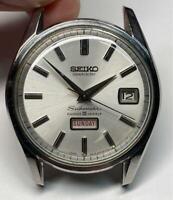 Vintage Seiko Seikomatic Weekdater 6218-8970 Automatic 35Jewels Mens Watch
