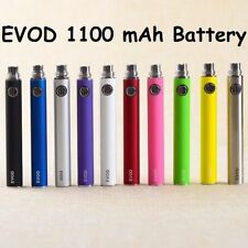 3x Pack 1100mAh Vape-Pen Battery Replacement 510 Threads + Charger Options 3EVOD