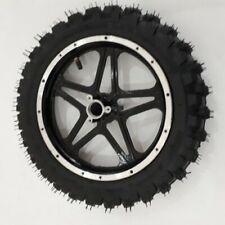 Hinterrad 2.50-10 incl Schlauch, Reifen und Felge Komplettrad Dirt Bike schwarz