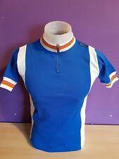 SMS Santini Short Sleeve Retro Vintage Cycling Jersey wool&acyrlic size 2