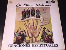 La Mano Poderosa Oraciones Espirituales Vinyl Record Album SUA Ritos LP 121