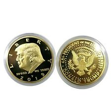 2019 Rare Donald Trump Republican US Gold Eagle Collection Gift Coin In Capsule