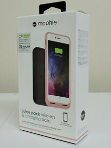 Mophie Juice Pack Wireless & Charging Base Battery Case - iPhone 7/8 Plus - Rose