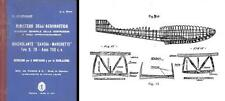 Savoia-Marchetti S.78 FLYING BOAT HISTORICAL MANUAL RARE ARCHIVE 1930's detail