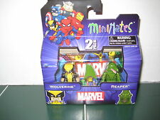 Marvel Minimates Wolverine and Reaper Two Pack Set