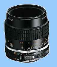 100% New Nikon Ais Micro-Nikkor 55mm F2.8 Macro Manual Lens Ai S MF f/2.8