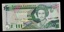 EAST CARIBBEAN STATES  5 DOLLARS MONTSERRAT ( 1993 ) PICK # 26m UNC.