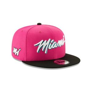 Miami Heat Vice New Era 9FIFTY NBA Earned Edition Snapback Cap South Beach Hat