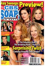 CBS Soaps In Depth Magazine - May 14, 2018 - Melody Thomas Scott, Sharon Case