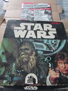 Star Wars Super 8mm Color Sound Film Ken Films 1977 RARE    16 MINUTES 91 METRES
