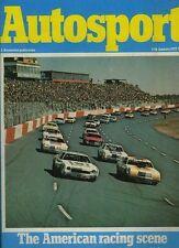 Autosport January 11th 1979 *NASCAR Survey for 1978*