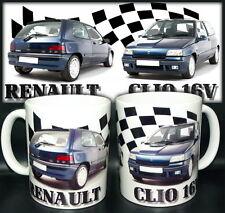 tazza mug RENAULT CLIO 1.8 16V car scodella ceramica