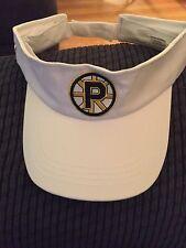 Providence Bruins Promotional Visor New w/o tags white adjustable back